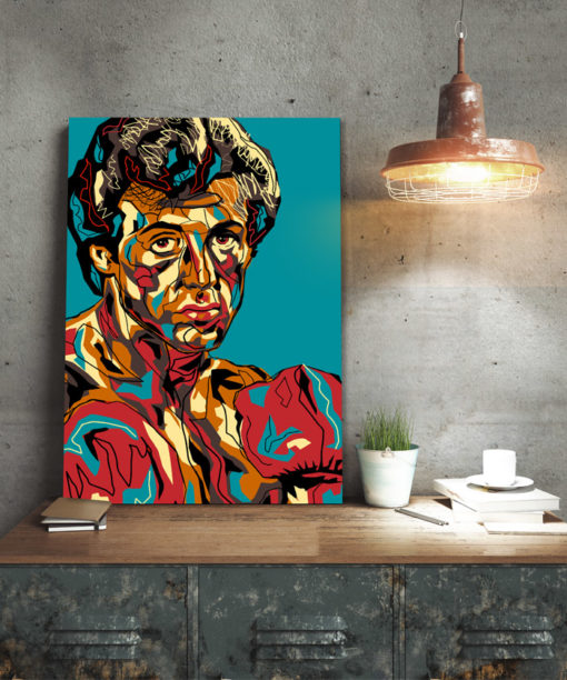 Tableau deco rocky balboa pop art