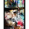 tableau collage pop art clint eastwood