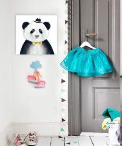 tableau deco chambre enfant panda