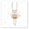 tableau chambre petite fille fee lapine