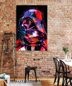 tableau Dark Vador star wars pop art