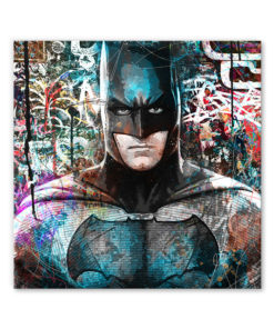 tableau deco batman street art pop art dc comics