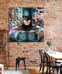 tableau deco batman street art pop art dc comics