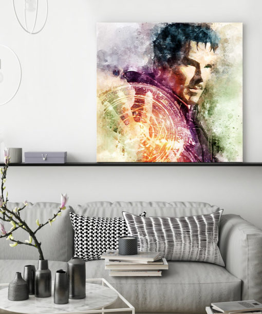tableau deco doctor strange marvel pop art