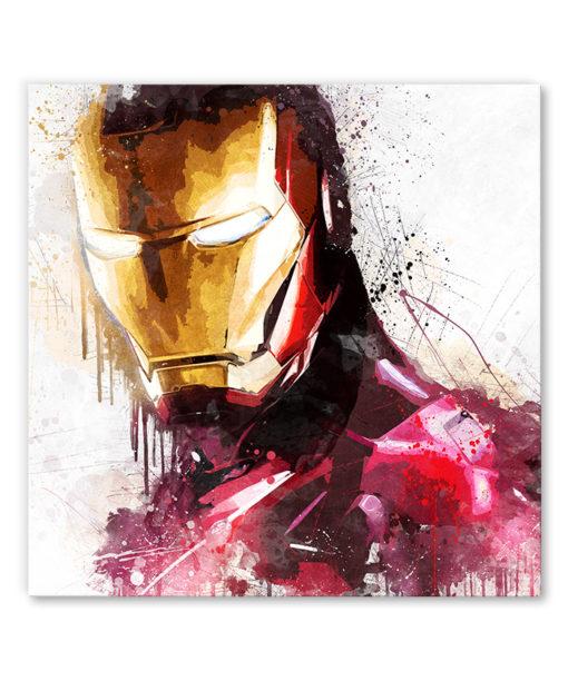 tableau iron man comics marvel
