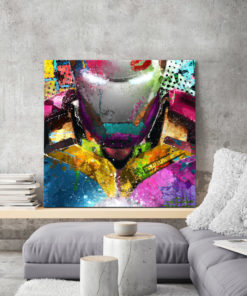 tableau iron man pop art marvel