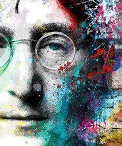 tableau deco john lennon street art