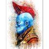 tableau déco super héros Yondu Udonta des gardiens de la galaxie de marvel
