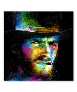 tableau deco Clint Eastwood Pop Art