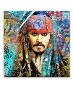 tableau deco pirate jack sparrow