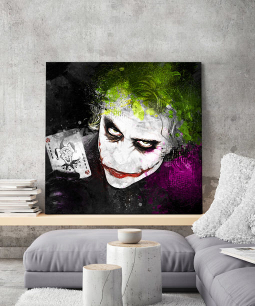 tableau joker dc comics batman