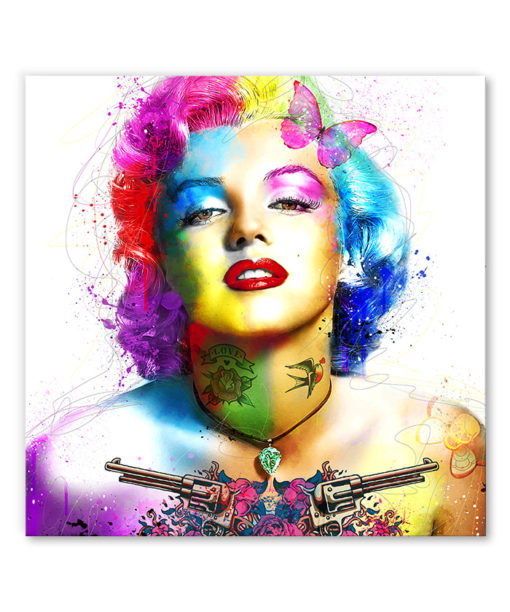 tableau pop art punk marilyn monroe