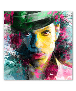 tableau chanteur prince pop art