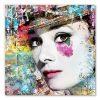 tableau deco Audrey Hepburn Pop Art
