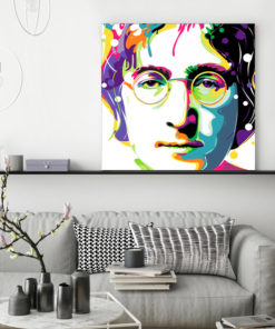 tableau deco john lennon pop art