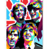 tableau deco pop art les Beatles