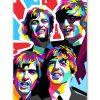 tableau deco pop art les Beatles
