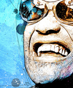 tableau pop art ray charles