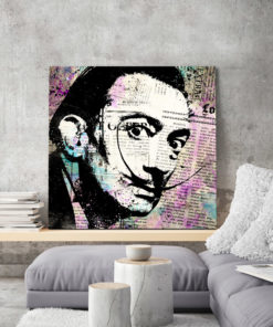 tableau pop art salvador dali