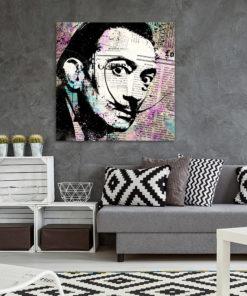 tableau pop art salvador dali