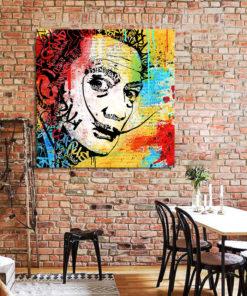 tableau street art salvador dali
