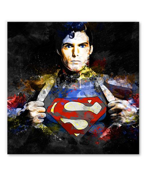 tableau super-héros superman dc comics
