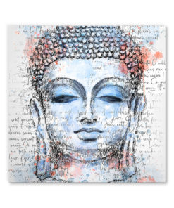 tableau decoratif bouddha aquarelle zen