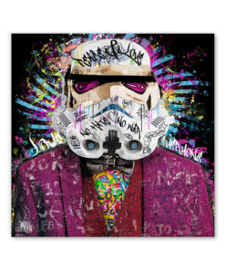 tableau stormtrooper star wars street art pop art