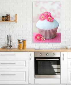 gateau cup cake rose