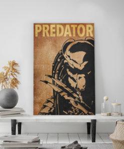 tableau predator minimaliste