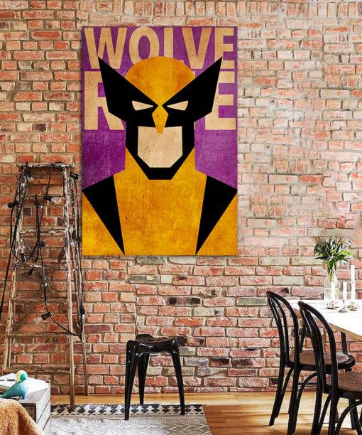 tableau deco wolverine x-men
