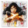 tableau décoratif wonder woman dc comics