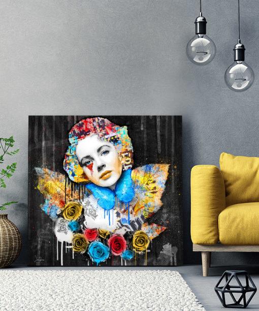 Tableau Elizabeth Taylor Pop Art