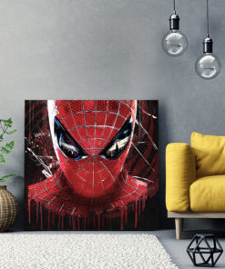 tableau spiderman pop art