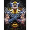 tableau wolverine x-men street art pop art comics