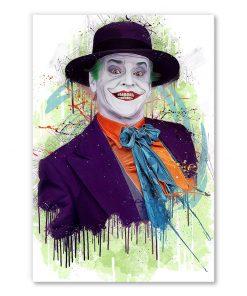 tableau deco portrait Joker Jack Nicholson
