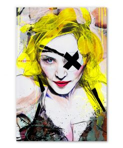 tableau deco madonna pop art