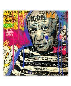 Tableau deco Picasso Graffiti Street Art