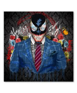 tableau deco venom super-heros marvel comics