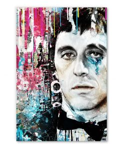 Tableau deco Al Pacino Le Parrain street art