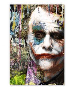 tableau deco joker dc comics batman street art