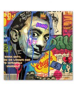 tableau deco salvador dali comics pop art
